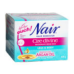Nair Cire Divine Microwave Resin Wax Hair Remover - Leg & Body - 400g