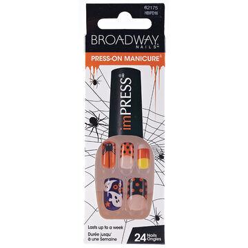 Broadway ImPRESS Halloween Press-On-Manicure