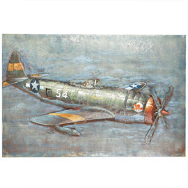 London Drugs Metal Print Antique F/Plane
