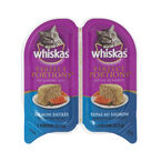 Whiskas Perfect Portions Entrees - Salmon - 2 x 37.5g