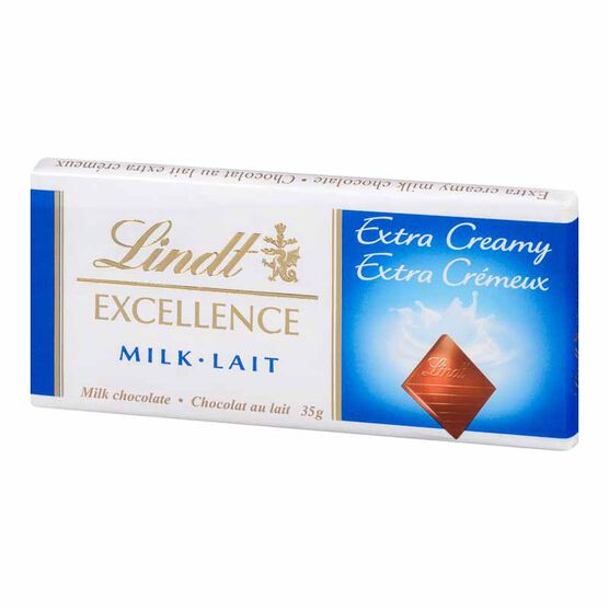 Lindt Excellence Bar - Extra Creamy - 35g