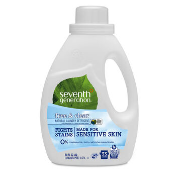 Seventh Generation Natural 2X Concentrated Laundry Liquid - Free & Clear - 1.47L