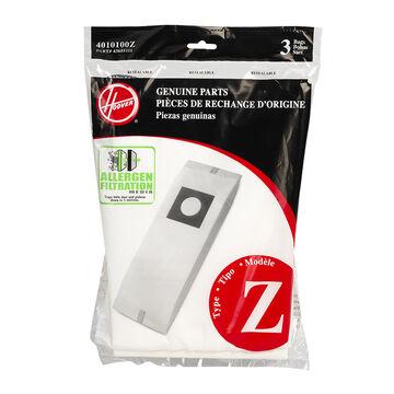Hoover Type Z Allergen Bag - 3 pack