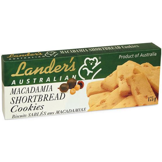 Lander's Macadamia Shortbread Cookies - 175g