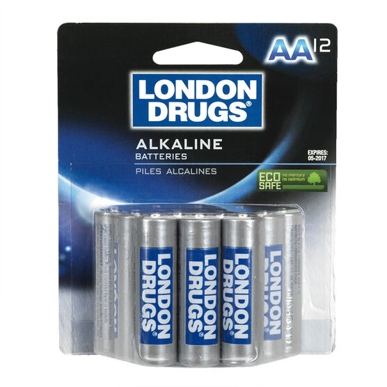 London Drugs AA Alkaline Batteries - 12 pack
