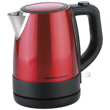 Hamilton Beach Cordless Kettle - Metallic Red - 1L - 40798C