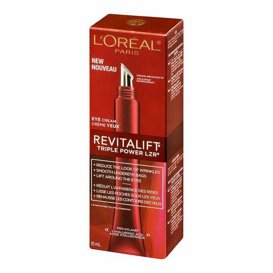 L'Oreal Revitalift Triple Power LZR Eye Cream - 15ml