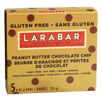 Larabar Peanut Butter Chocolate Chips - 5 x 45g