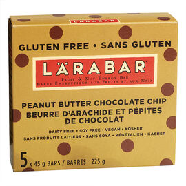 Larabar Peanut Butter Chocolate Chips - 5 x 45g