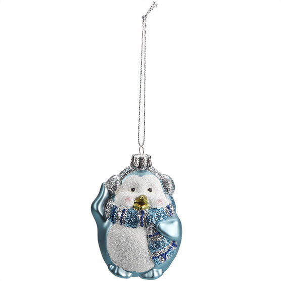 Winter Wishes Penguin Ornament - XLD2016-15UFOB