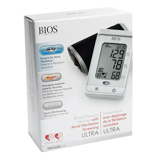 BIOS Premium Blood Pressure Monitor - 3MS1-4K