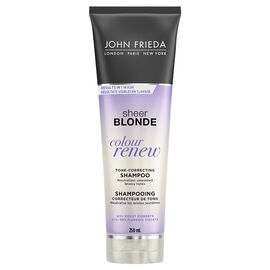 John Frieda Sheer Blonde Colour Renew Tone-Refreshing Shampoo - 250ml