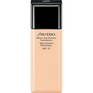 Shiseido Sheer and Perfect Foundation - B60 Deep Beige