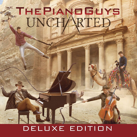 The Piano Guys - Uncharted (Deluxe) - CD + DVD