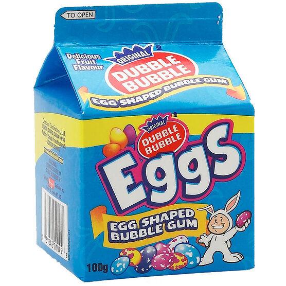 Dubble Bubble Eggs - 100g