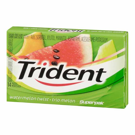 Trident Gum - Watermelon Twist - 14 pieces