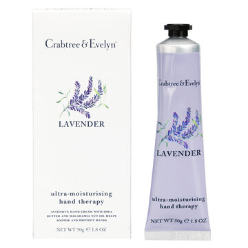 Crabtree & Evelyn Lavender Ultra-Moisturising Hand Therapy - 50g