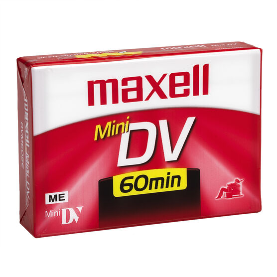 Maxell Mini DV Cassette - 60 Minutes