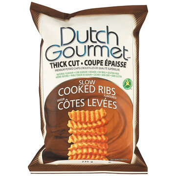 Dutch Gourmet Chips - Slow Cooked Ribs - 235g