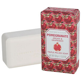 Crabtree & Evelyn Pomegranate, Argan & Grapeseed Triple Milled Soap - 158g