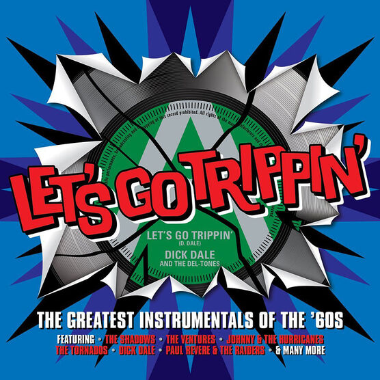 Various Artists - Let's Go Trippin': The Greatest Instrumentals Of The '60s - 3 CDs
