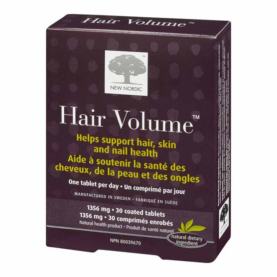 New Nordic Hair Volume Tablets - 30's