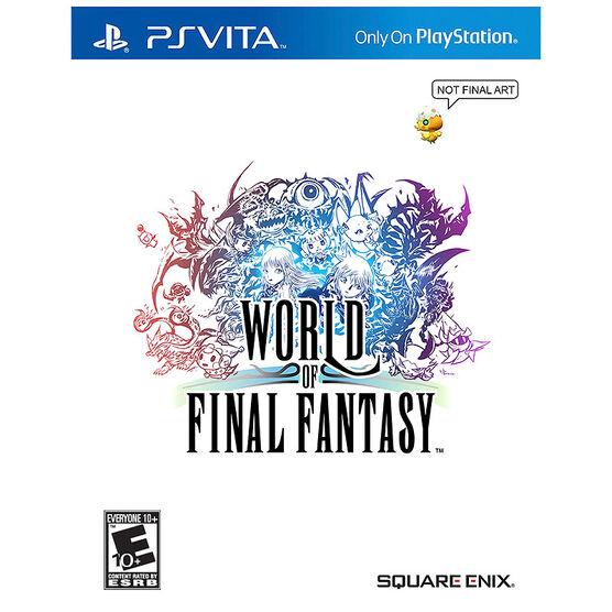 PS Vita World of Final Fantasy
