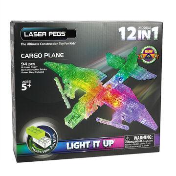 Laser Pegs Cargo Plane Kit
