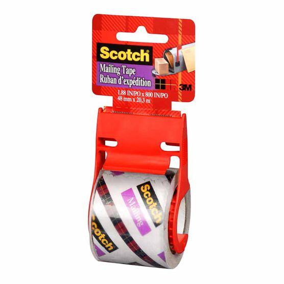 3M Scotch Clear Mailing Tape - 48mmx20.3m