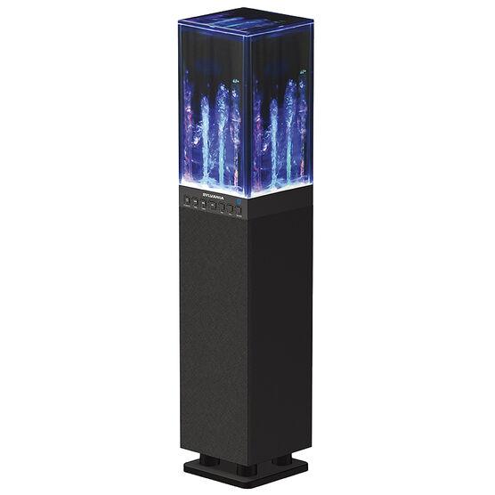 Sylvania Bluetooth Water Tower Speaker - Black - SP118