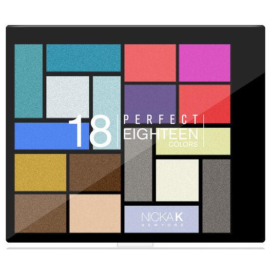 Nicka K Perfect Eighteen Eyeshadow Palette - AP026