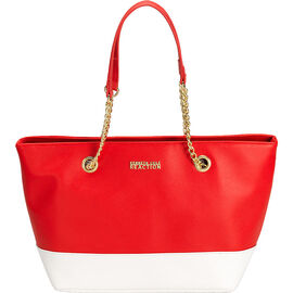 Kenneth Cole Multiplier Shopper - Persimmon/White