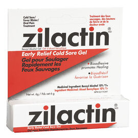 Zilactin Medicated Gel - 6g