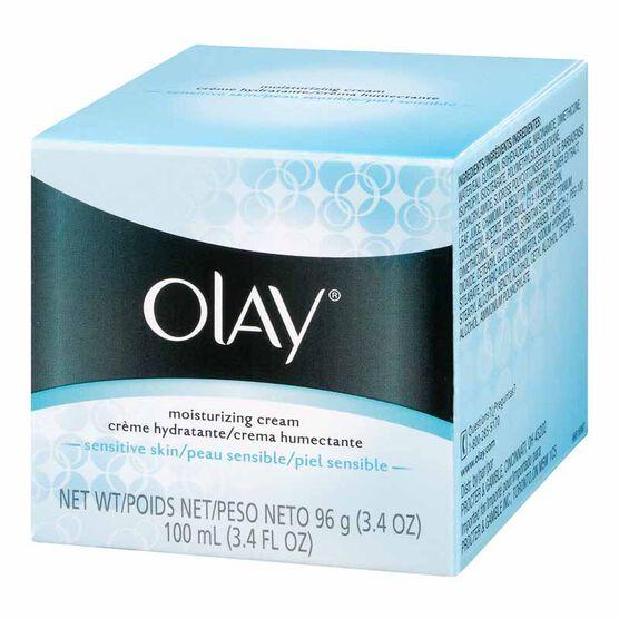Olay Classic Moisturizing Creme - Sensitive Skin - 96g