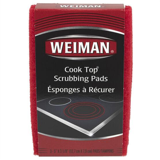 Weiman Scrubbing Pads - 3 pack