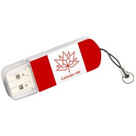 Verbatim Special Edition Canada 150 USB Flash Drive - 32GB - USB 2.0