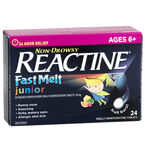 Reactine Allergy Fast Melts Junior - 24's