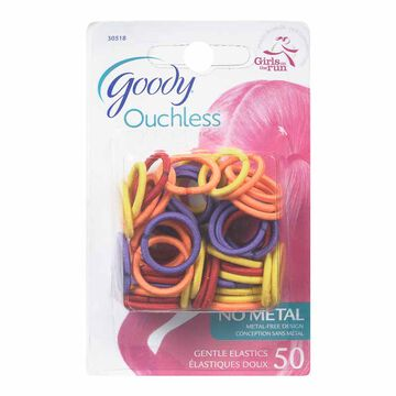 Goody Ouchless 2mm Mini Elastics - 50's