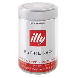 Illy Medium Ground Coffee - Espresso - 250g