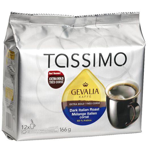 Tassimo Gevalia Kaffe Dark Italian Roast - 12 servings