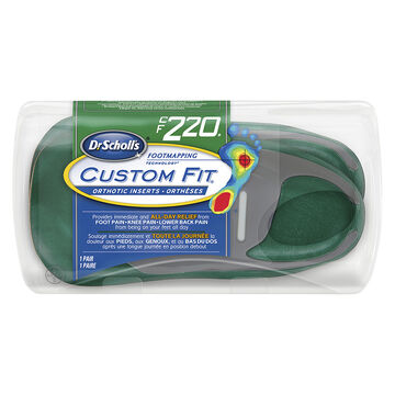 Dr. Scholl's Custom Fit Orthotic Insoles - CF220 - M8.5/W9.5