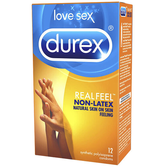 Durex Real Feel Non-Latex Condoms - 12's