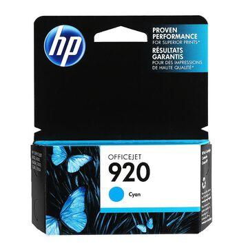 HP 920 Officejet Ink Cartridge - Cyan - CH634AC140