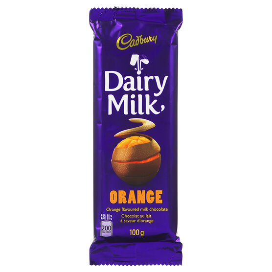 Cadbury Bar - Orange - 100g