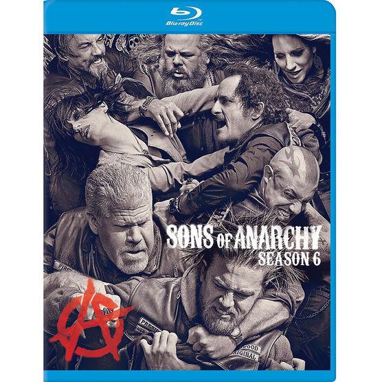 Sons of Anarchy: Season 6 - Blu-ray