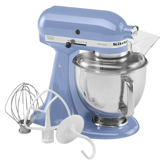 KitchenAid Artisan Series 5 quart Stand Mixer - Cornflower Blue - KSM150PSCO