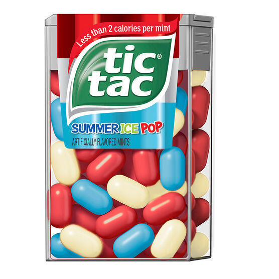 Tic Tac Summer Ice Pops - 49's