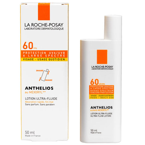 la roche posay anthelios ultra fluid lotion spf 60 50ml london. Black Bedroom Furniture Sets. Home Design Ideas