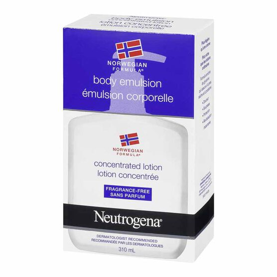 Neutrogena Norwegian Formula Body Emulsion - Unscented - 310ml