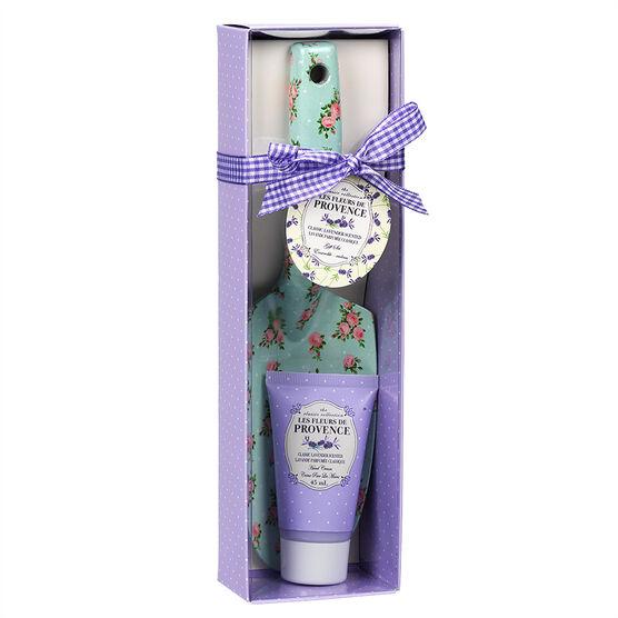 Les Fleurs de Provence Spade & Hand Cream Set - Lavender